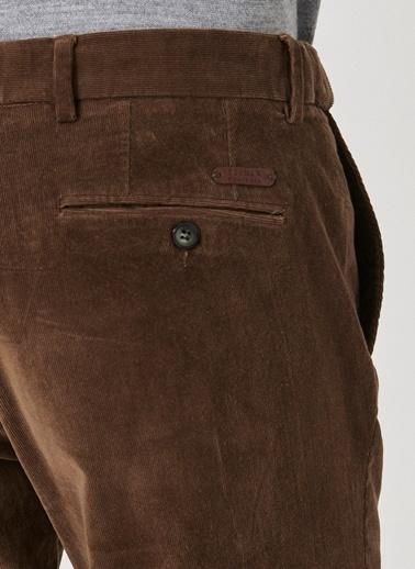 Beymen Business Slim Fit Kadife Pantolon 4B0119100015 Camel